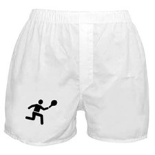 Tennis player logo Boxer Shorts