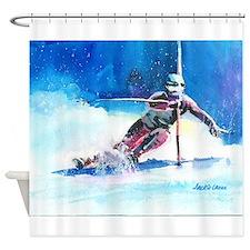 ski 4 Shower Curtain
