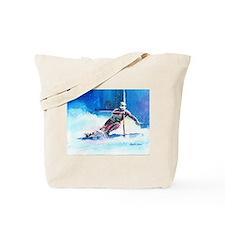 ski 4 Tote Bag