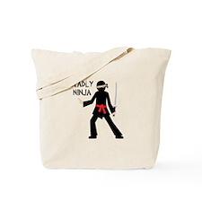 Deadly Ninja Tote Bag
