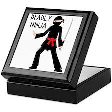 Deadly Ninja Keepsake Box