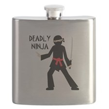 Deadly Ninja Flask