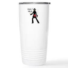Deadly Ninja Travel Mug