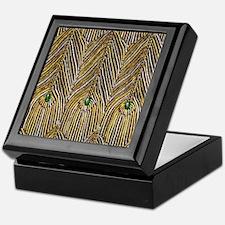 Lady Curzon's Peacock dress Keepsake Box
