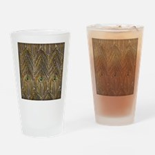 Lady Curzon's Peacock dress Drinking Glass
