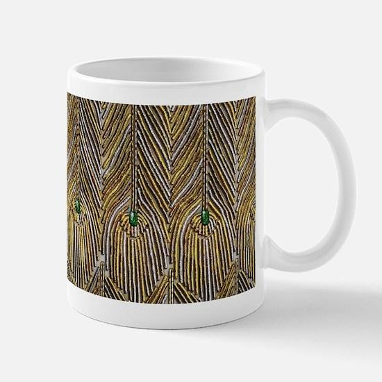 Lady Curzon's Peacock dress Mugs