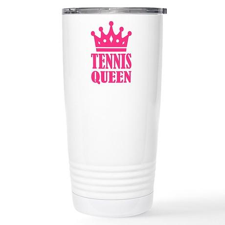 Tennis queen crown Stainless Steel Travel Mug