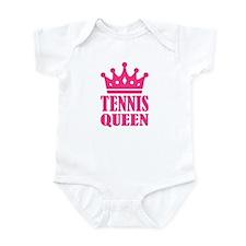 Tennis queen crown Infant Bodysuit