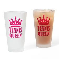 Tennis queen crown Drinking Glass