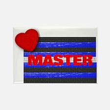 LEATHER PRIDE/MASTER/BRICK Rectangle Magnet