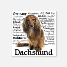 Dachshund Traits Sticker