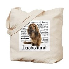 Dachshund Traits Tote Bag