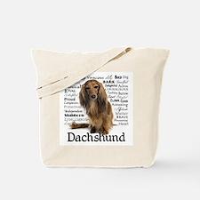 Dachshund Traits Tote Bag