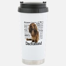 Dachshund Traits Travel Mug