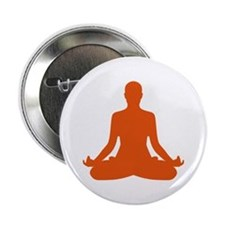 "Yoga meditation 2.25"" Button"
