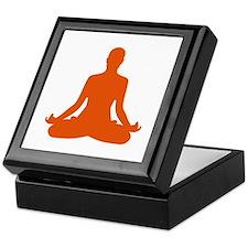 Yoga meditation Keepsake Box
