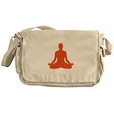 Yoga meditation Messenger Bag