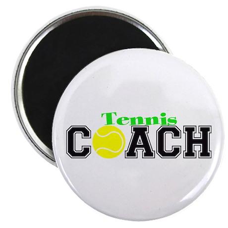 "Tennis Coach 2.25"" Magnet (100 pack)"
