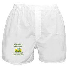 Martinis Boxer Shorts