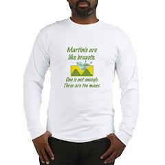 Martinis Long Sleeve T-Shirt