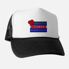 LEATHER PRIDE/MASTER/BRICK Trucker Hat