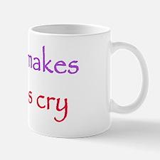 Sanjaya makes girls cry Mug
