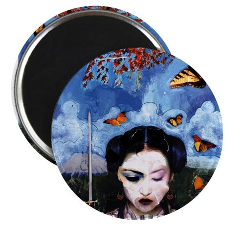 Madame Butterfly Magnet