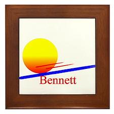 Bennett Framed Tile
