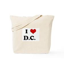 I Love D.C.   Tote Bag