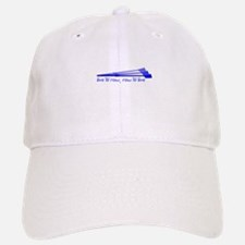 Live to Row - BLUE Baseball Baseball Cap