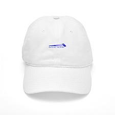 Live to Row - BLUE Baseball Cap