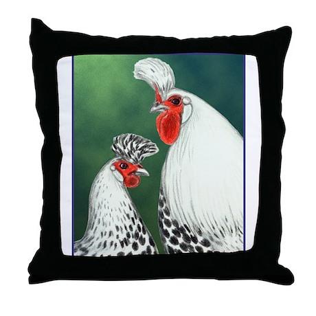 Spitzhauben Pair Throw Pillow
