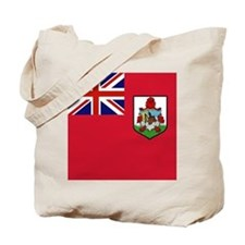 Flag of Bermuda island Tote Bag