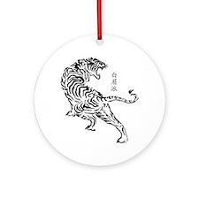 Bak Mei Tiger Round Ornament