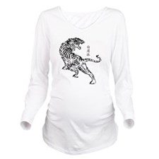 Bak Mei Tiger Long Sleeve Maternity T-Shirt