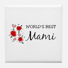 WB Mom [Spanish] Tile Coaster