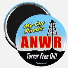 "ANWR - Terror-Free Oil! 2.25"" Magnet (10 pack)"