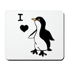 Penguin Draw Mousepad