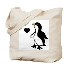 Penguin Draw Tote Bag