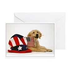Golden Puppy 4th of July SNAPshotz Photocards