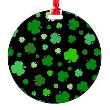 'Irish Shamrocks' Ornament