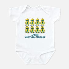 Ducks for a Cause Cervical Cancer Infant Bodysuit