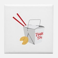 Thank You Tile Coaster