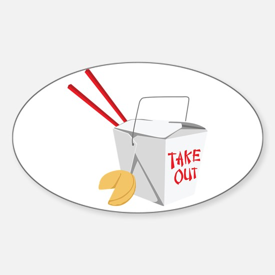 Take Out Decal