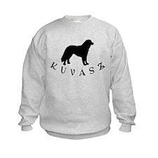 Kuvasz Dog w/ Text Sweatshirt