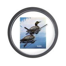 Loon Bird Wall Clock