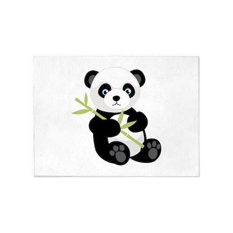 Panda Bear 5u0027x7u0027Area Rug