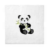 Panda bear Queen Duvet Covers