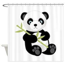 Panda Bear Shower Curtain