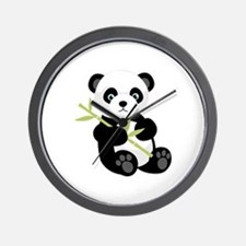 Panda Bear Wall Clock